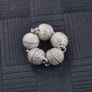 5/10/20pcs/Lot Lobster Magnetic Clasp Magnet Buckle Connectors For Bracelet & Necklace