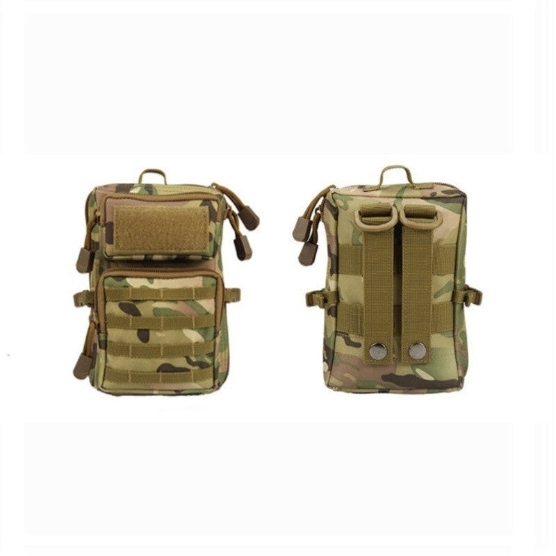 1pcs Outdoor Camping Hunting 600D Tactical Molle Pouch Medical kit Bum Bag Shoulder Bags