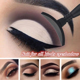 1pc Popular Portable Silicon Lazy Eyeshadow Stamp Useful Cut Crease Cat Eye Beauty