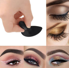 Load image into Gallery viewer, 1pc Popular Portable Silicon Lazy Eyeshadow Stamp Useful Cut Crease Cat Eye Beauty