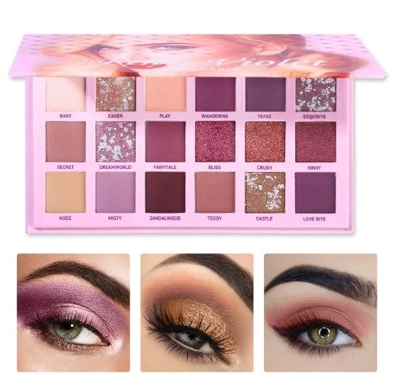 4 Colors/ 18 Colors Eyeshadow Makeup Palette Multicolor Eye Shadow Pigment Waterproof Cosmetics for Women Girls