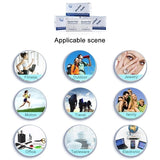 200pcs Disposable alcohol disinfection cotton pad Disposable Cotton Sterilization Alcohol Wipe Pad First Aid Disinfection