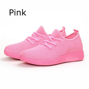 Women's Fashion Casual Shoes Flats Sneakers Running Shoes Sports  Shoes Blade Bottom Anti Slip Sports Shoes Women's Wear Resistant Casual Shoes