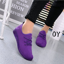 Load image into Gallery viewer, Women's Fashion Casual Shoes Flats Sneakers Running Shoes Sports  Shoes Blade Bottom Anti Slip Sports Shoes Women's Wear Resistant Casual Shoes