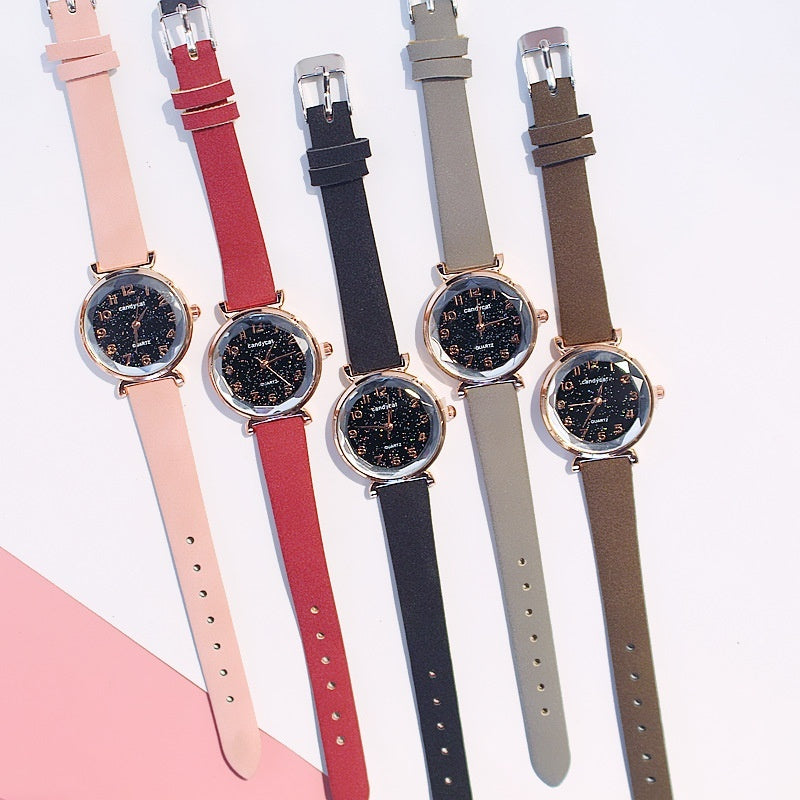 Candy Cat Sakura Watch Female Students Simple Fashion Trend Japanese Girls Small Fresh Temperament Bracelet