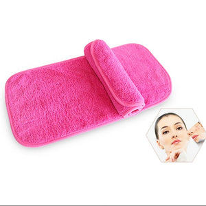 40cm*17cm Makeup Remover Eraser Towel Reusable Magic Makeup Remover Wipes Facial Cleansing Towels Cloth No Need Cleansing Oil