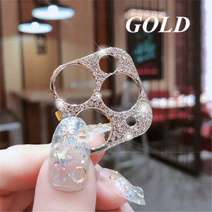 Diamond Camera Lens Protector Film For iPhone 11 Pro Max Glitter crystal Len Protector Cover For iPhone11 Pro Max Glass Cover