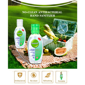 50ML Instant Hand Sanitizer,Sanitizer Table Top Pump Bottles,Refreshing Gel,75% Ethanol,Anti-Bacteria Waterless Moisturizer Travel Health Care