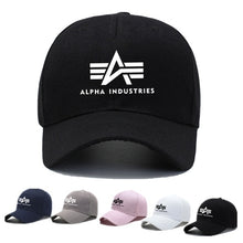 Load image into Gallery viewer, 2020 Unisex ALPHA INDUSTRIES Printed Baseball Cap Casual Snapback Hip Hop Hats & Caps Men Sun-proof Hats