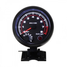 Load image into Gallery viewer, 3.75Inch Universal Car Tachometer Tacho Gauge Meter LED Shift Light 0-8000 RPM