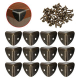 12Pcs Wooden Corner Desk Edge Protector Guard Child-Safely Hardware W/ Screws