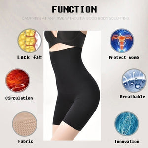 New Fashion Women Slimming Body Shaper  Butt Lift Tummy Control Shapewear  Fat Burning High Waist Abdomen Control Shaping Pants
