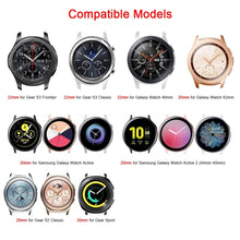 Load image into Gallery viewer, Replacement Fabric Scrunchie Bracelet for Samsung Galaxy Watch Active 2 Gear S2 S3 Classic Frontier
