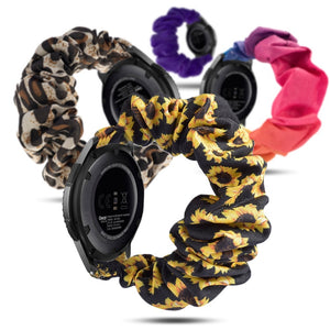 Replacement Fabric Scrunchie Bracelet for Samsung Galaxy Watch Active 2 Gear S2 S3 Classic Frontier