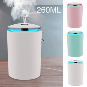 260ML Electric Air Humidifier Aroma Oil Diffuser Home Car Relax Defuser Night Light
