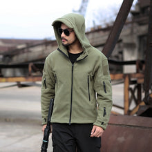 Load image into Gallery viewer, Military Man Fleece Tactical Jacket  Outdoor Polartec Thermal Breathable Sport Hiking Polar Jacket