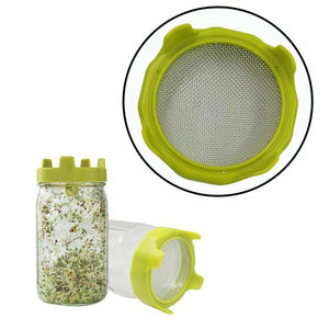 Seed Sprouter Germination Cover Bean Sprouting Filter Net Cover