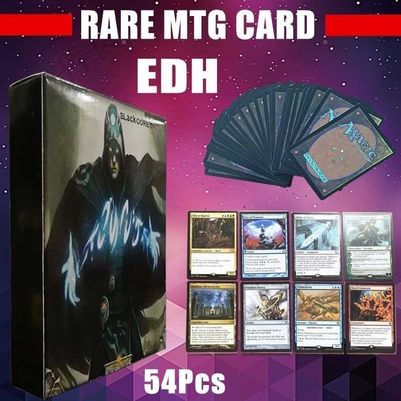 Hot Sell EDH Mtg Proxy Cards 54pcs Black Core EDH Magic Cards Deck Magic the Gathering Card