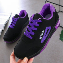 Load image into Gallery viewer, EU35-40 Casual Women's Sports Running Shoes Sneakers Women Lace Up Breathable Tennis Shoes Outdoor Sneakers Plus Size