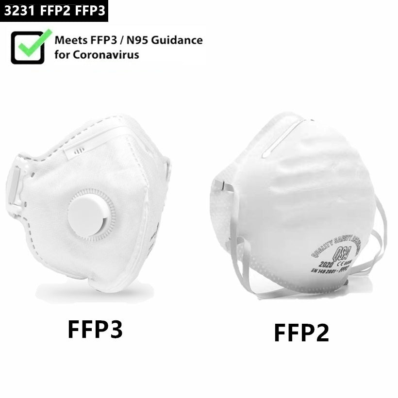 FFP2/FFP3 FFP1 KN95 Professional Mask Health Care Accessories Non-Woven Anti Fog Anti Haze Mouth-muffle Mask Eco- friendly