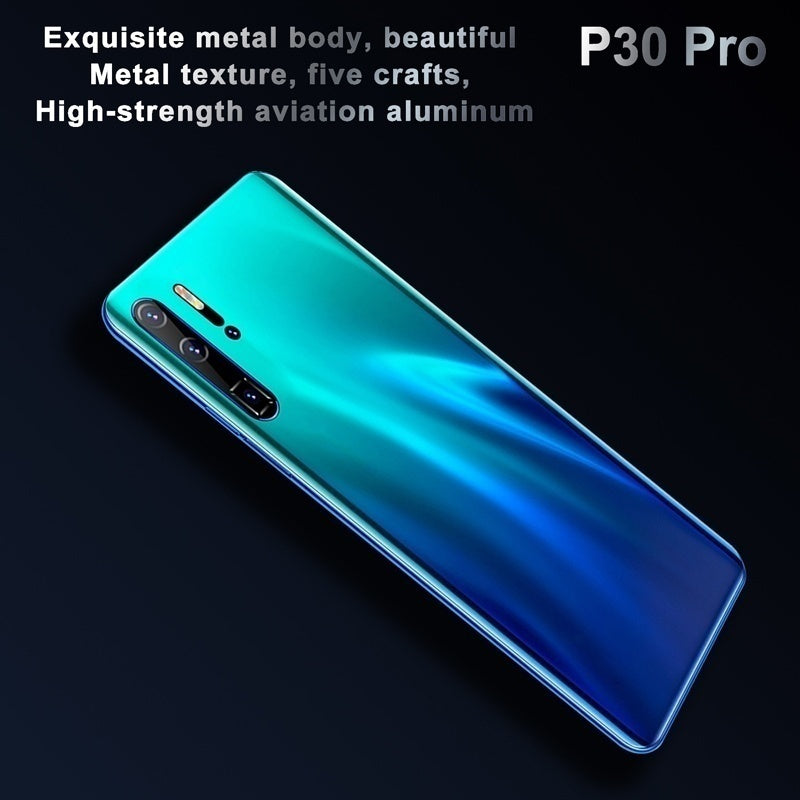 P30 Pro 6.3 Inch Smartphone 10 Core 6GB  128GB Android Dual SIM Card 4G Mobile Phone Water Drop Screen Smart Phone