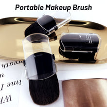 Load image into Gallery viewer, Travel Portable Makeup Brushes Cheek Loose Powder Brush Beauty Fix Make Up Tools Retractable Single Small Cosmetics Brushes Foundation