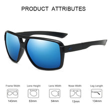Load image into Gallery viewer, Outdoor Sport Sunglasses Men Women Brand Designer Square Mirrored Fishing Sunglasses Unisex Eyewear Male Shades UV400