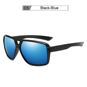 Outdoor Sport Sunglasses Men Women Brand Designer Square Mirrored Fishing Sunglasses Unisex Eyewear Male Shades UV400