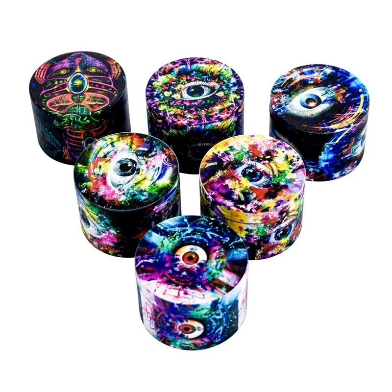 Full Body Color Herb Spice Grinder Tobacco Crusher