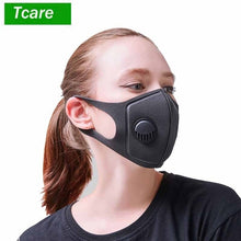 Load image into Gallery viewer, Pollution Mask  Grade Anti Air Dust and Smoke Pollution Mask with Adjustable Straps and a Washable Respirator Mask Made
