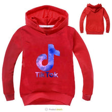 Load image into Gallery viewer, 2019 New Arrival Popular Cartoon tik tok Printed Hoodies Print Hoodies Clothes Children Cartoon Pullover