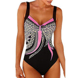 Trendy Women Summer Plus Size One Piece Bathing Suits Swimwear