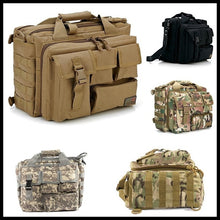 Load image into Gallery viewer, 1000D Tactical  bag Camouflage Waterproof Oxford Cloth Outdoor Shoulder Hiking Backpack Army Fan 511 Computer Bag