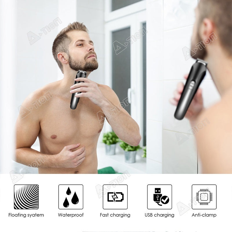 15 in 1 Electric Shaver Hair clipper Trimmer Rechargeable Multi-functional hairstyle Facial Styling Kit