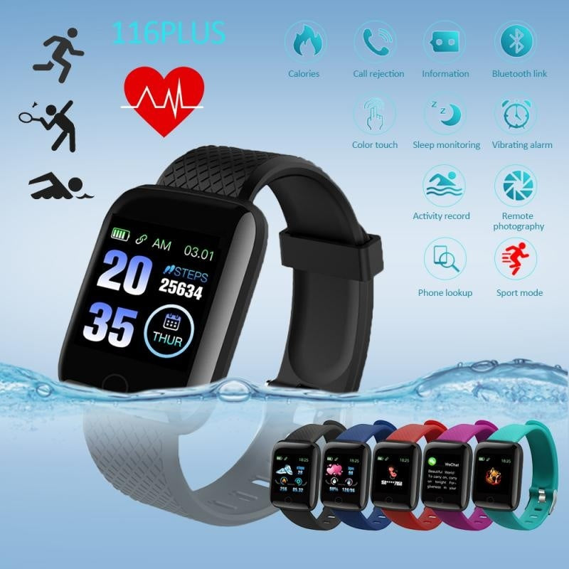 2020 Smart Watch Men Women 1.4inch Full Touch Screen Fitness Tracker Heart Rate Monitor IP67 Waterproof GTS Sports Band