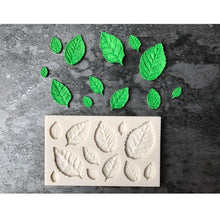 Load image into Gallery viewer, Silicone mold for leaves