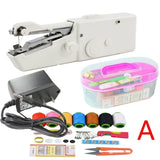 Portable Mini Handheld sewing machines Stitch Sew needlework Cordless Clothes Fabrics Electric Sewing Machine Stitch Set