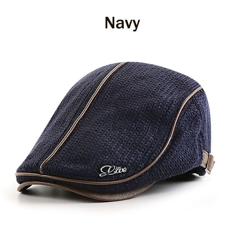 Men's Newsboy Ivy Driving Hat Classic Flat Cap