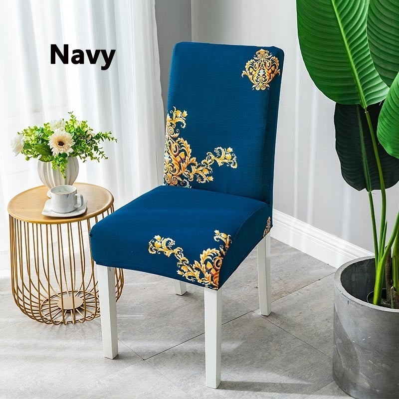 1/2/4/6 Pcs Home Living Dining Chair Covers Spandex Stretch Dining Room Chair Protector Slipcover Decor