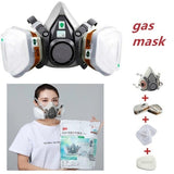 6200 Gas Mask Seven-Piece 620P Set Spray Paint Mask Anti-Formaldehyde Factory Chemical Experiment Mask