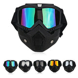 Breathable UV Safety Anti Dust Eye Protection Face Shield Mouth Filter Goggles Chemical Respirator Protective Glasses Gas Mask