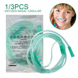 1/3 Pcs 150 cm Disposable  Adult Soft Double Nose Oxygen Cannulas Tubes