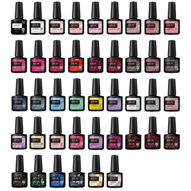 33/43Bottles/Set Color UV Gel Set Soak off Gel Nail Polish Nail Art Gel Varnish Kit