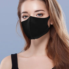 Load image into Gallery viewer, 50/20/10/3 Pcs Black Mouth Mask Outdoor Fashion Anti-Dust Cotton Unisex Face Mask Respirator Winter Warm Mouth Mask