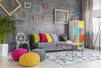 Mixing Art And Furniture_Adding Accents To Interior Design