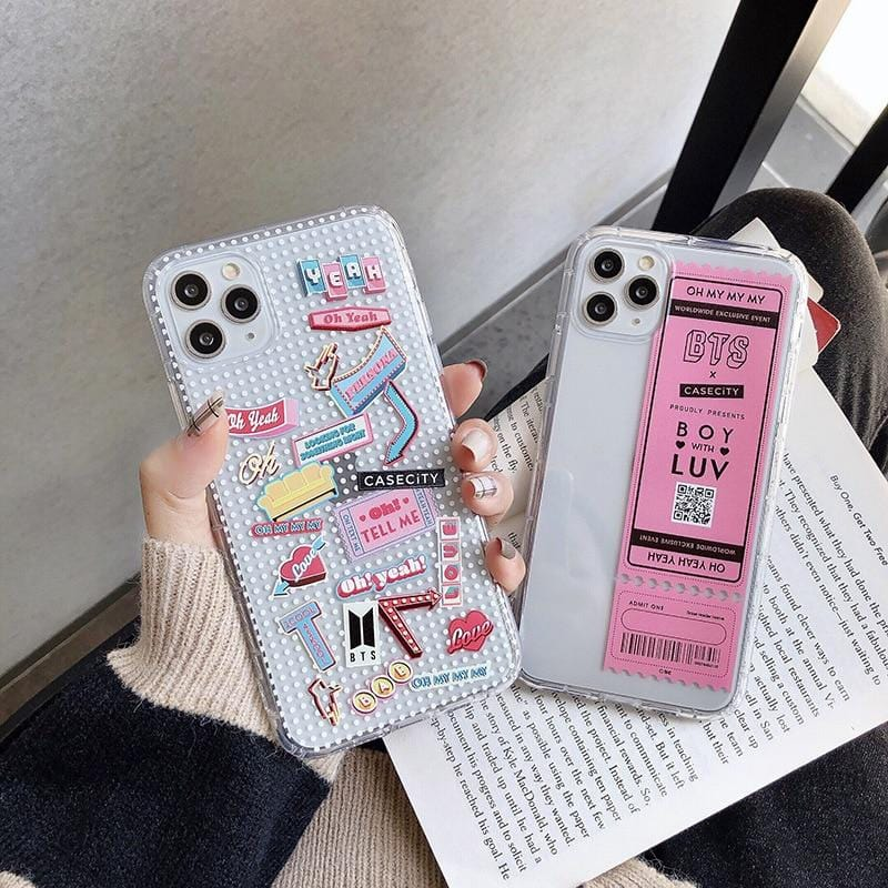 BTS Concert Ticket iPhone Cases