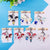 BTS 2020 Cartoon Figure Keychains