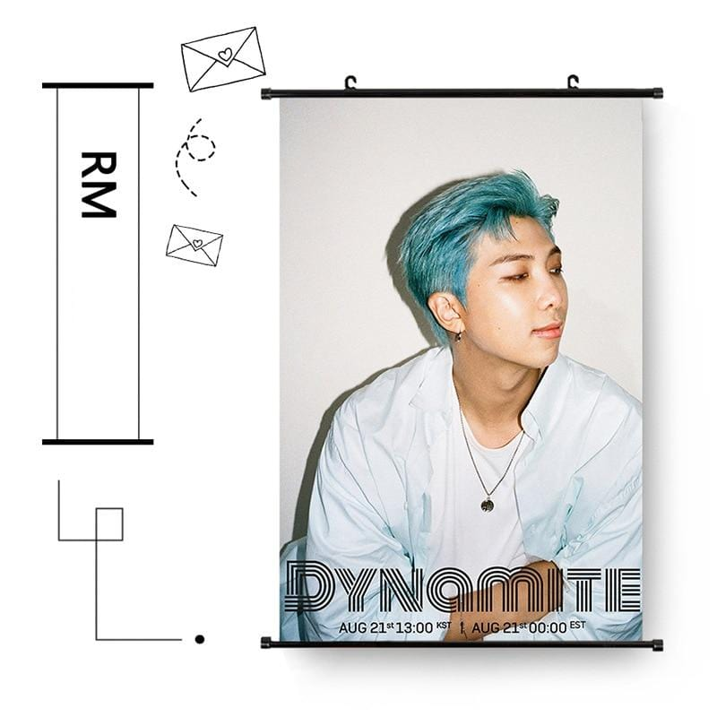 BTS 2020 Dynamite Hanging Wall Photo