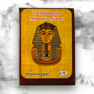 Tutankhamun Memorize Card Game
