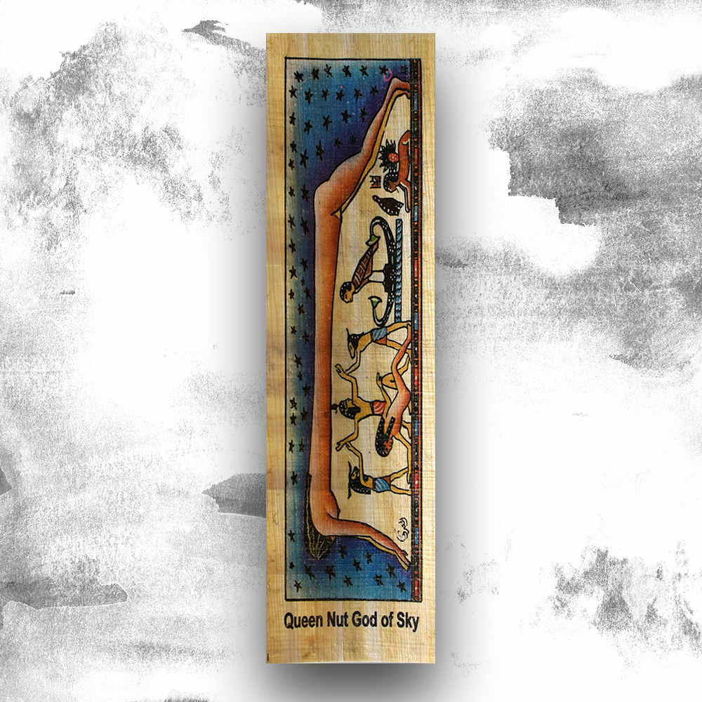 Papyrus 'Queen Nut God of Sky' Bookmarks